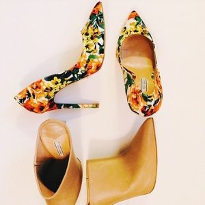 Tony Bianco Floral Pump - only worn once